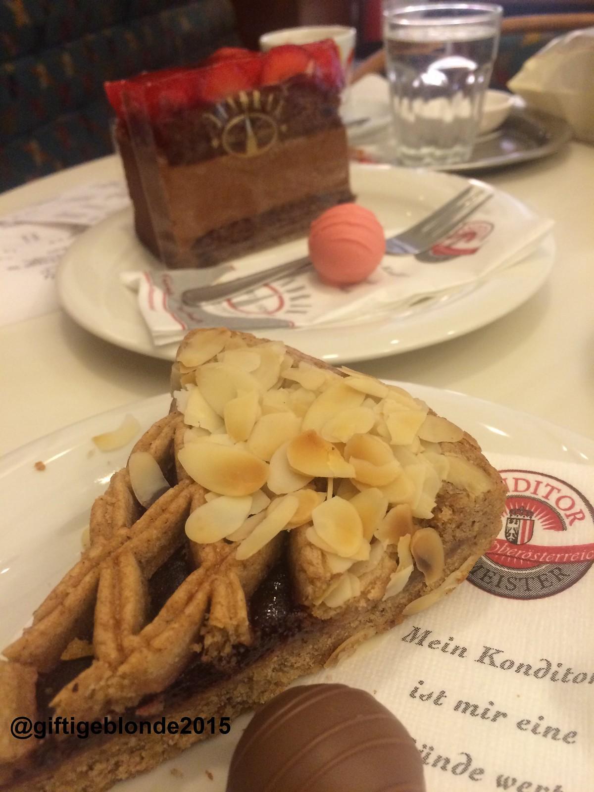 Linzer Torte im Cafe Jindrak