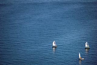 Sailing In A Empty Sea