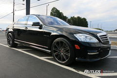 Mercedes S65 with 20in Vossen VPS-307 Wheels and Michelin Pilot Super Sport Tires