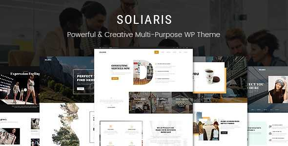 Soliaris WordPress Theme free download
