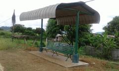 Alcaldía de Chone y ciudadela Los Almendros instalan Parqueadero de Buses