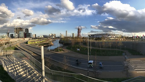 Queen Elizabeth Olympic Park Panorama