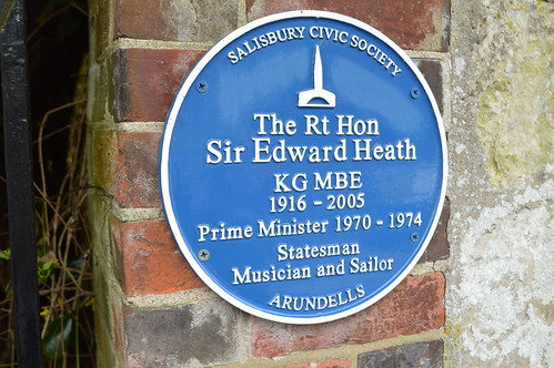 Sir Edward Heath plaque