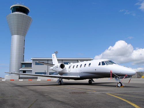 D-CQQQ Cessna 560XL Citation XLS by Jersey Airport Photography