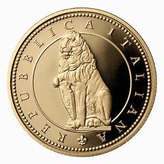 Italy 50 Euro Fauna reverse