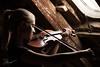 """Attic violin (""""Strähnenstrappen"""") - [explored!] by O.I.S."""