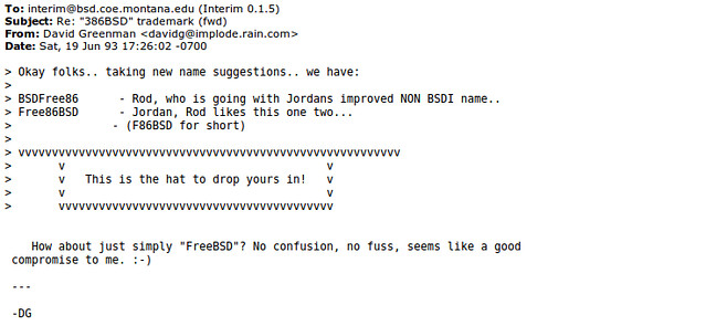 20 éves a FreeBSD