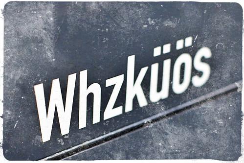 Whzküös, copyright 2013: Georg Berg