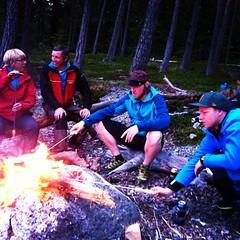 Midsommarafton på Bynäste Jämtland