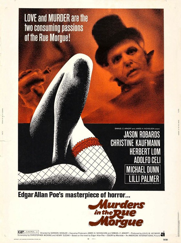 Cartel de Murders in the Rue Morgue (1971)