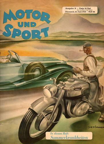 1938 Motor Und Sport Magazine by bullittmcqueen
