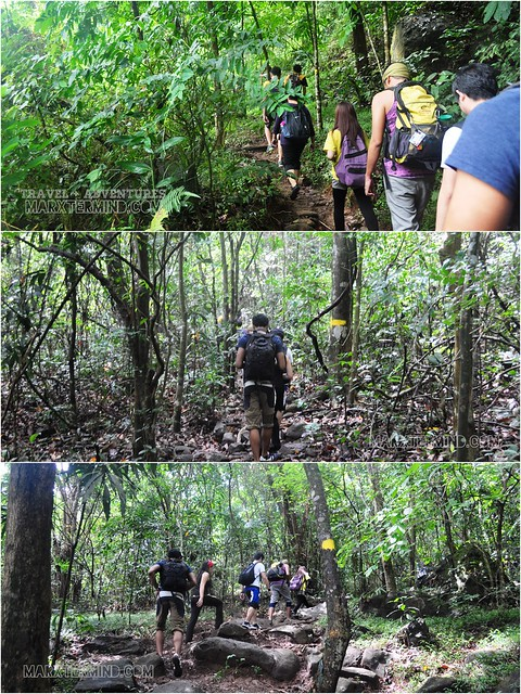 Hiking to Pico de Loro