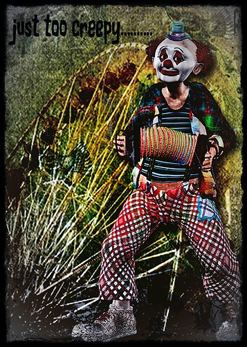clowns are just creepy by ann divelbiss