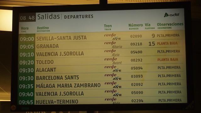 Madrid to Toledo Train