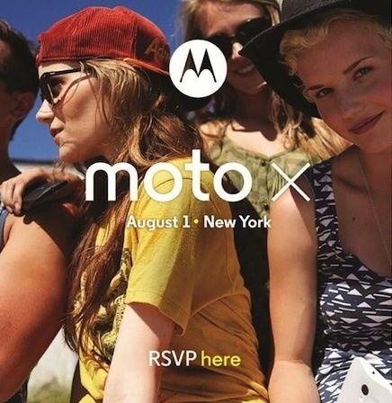 Дата выхода Moto X