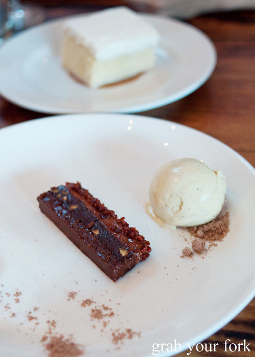 bacon chocolate crunch bar dessert at animal restaurant los angeles by jon shook and vinny dotolo