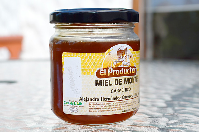 Honey from Alejandro Caceres, Tenerife