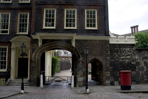 Entrance to Charterhouse