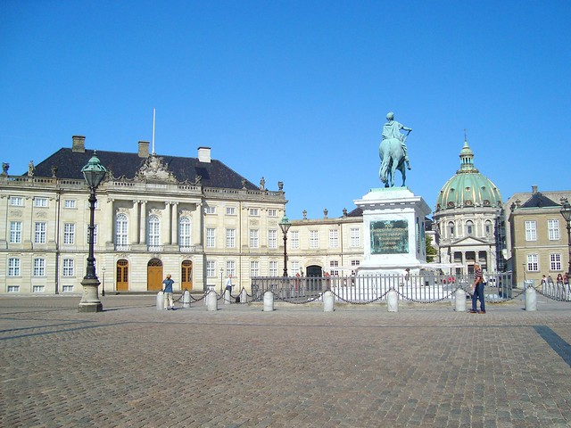 Amalienbourg Royal Palace