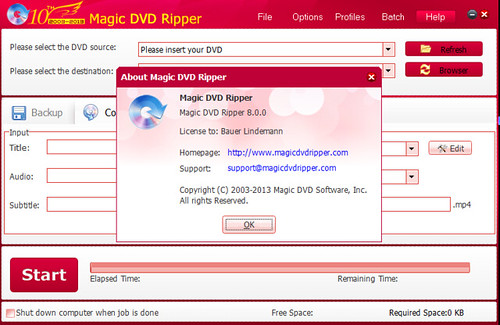 Magic DVD Ripper v8.0.0