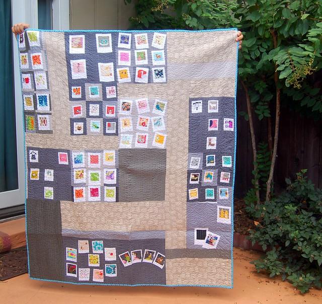 FO: Polaroid Quilt