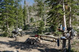 Boulder Lake camp