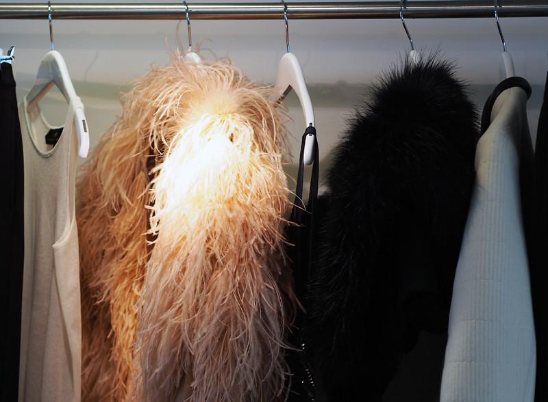 fluffy coat hm
