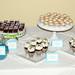 Evan's Baptism desserts