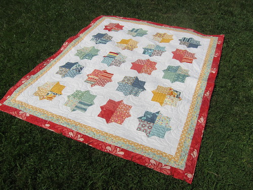 Finished Smitten Quilt
