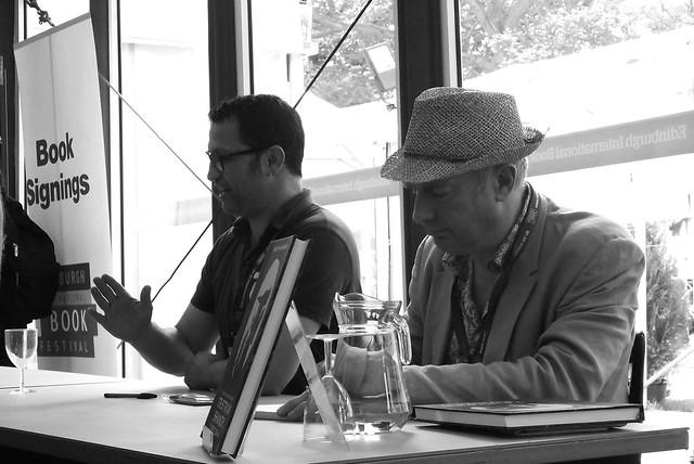 Edinburgh Book Festival 2013 - Rob Davis & Martin Rowson 02