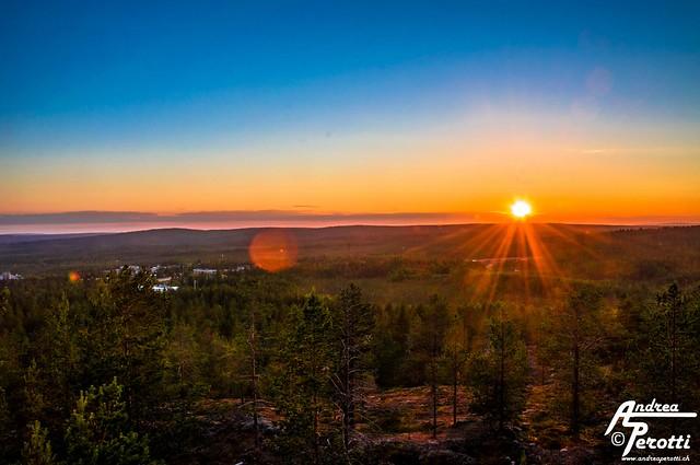 Rovaniemi Midnight Sun