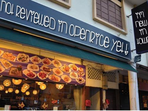 new restaurant