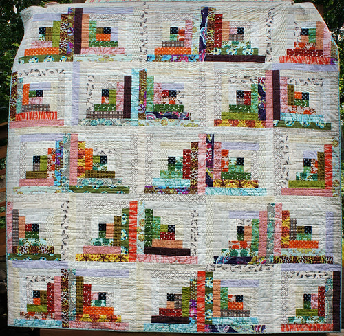 Quiet Cabin Quilt - Full view