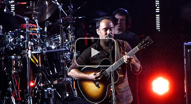 'What Would You Say' - The Dave Matthews Band, The Gorge 31 August, 2012.