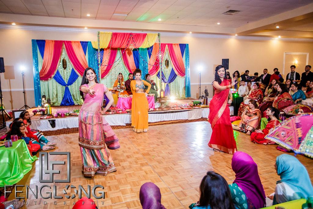 Mehndi Party Dance : Jennifer & basits mehndi night seasons event hall atlanta