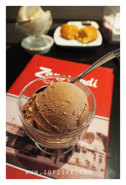 Ice cream choco Zangrandi