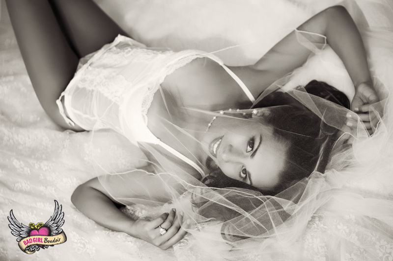 Bridal Boudoir | Sexy photoshoot for wedding gift