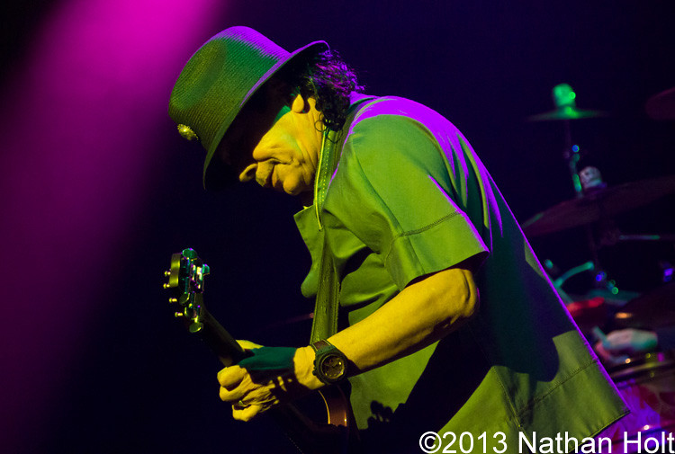 Santana performs on September 18th, 2013 at House of Blues in Las