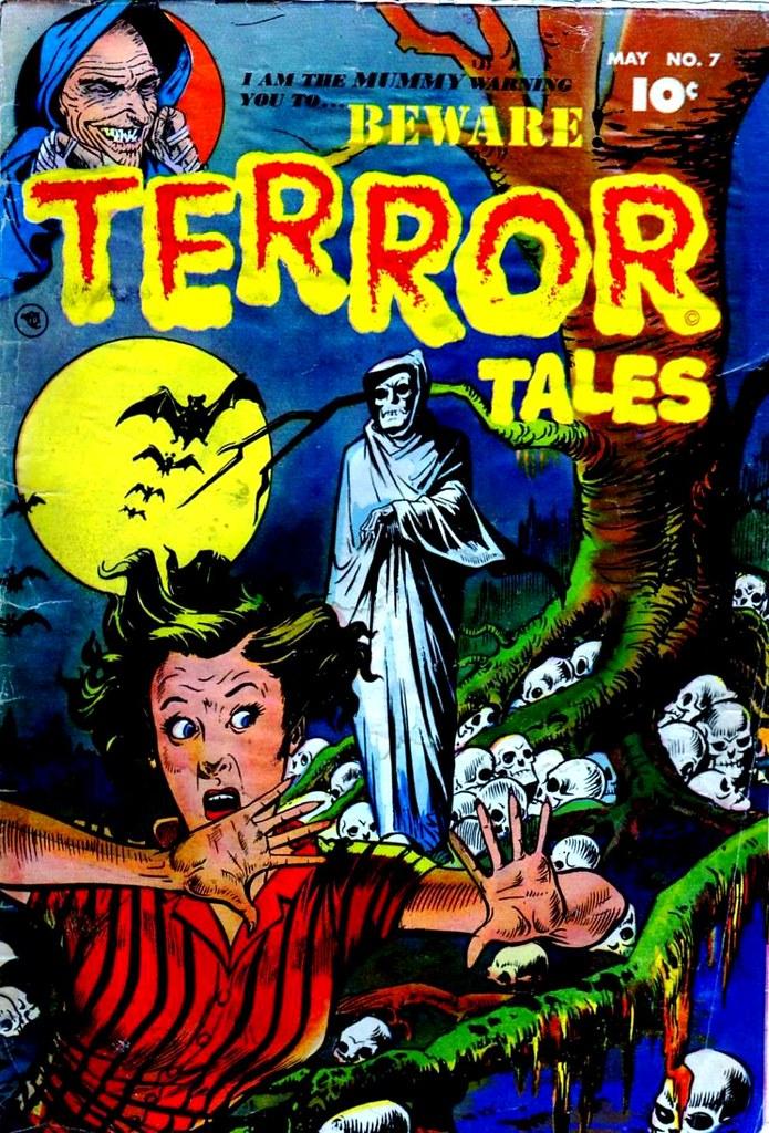 Beware! Terror Tales 7 Fawcett Comics 1953