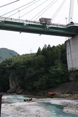 諏訪峡大橋 バンジージャンプ