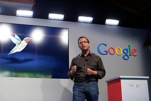 The launch of Google Hummingbird