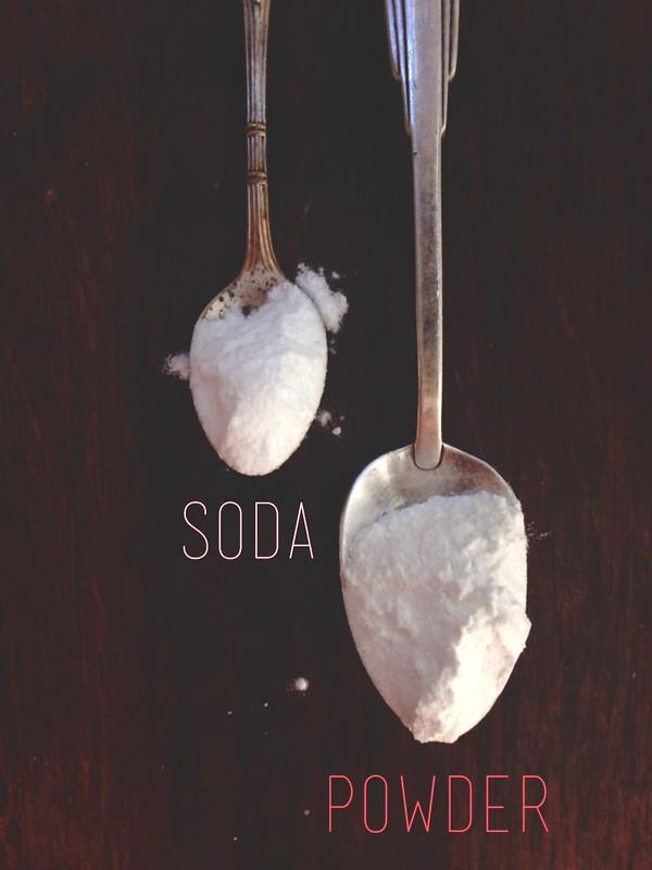 powder are