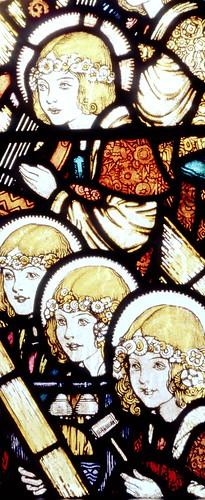North Aisle cloister windows - detail - late 1920s