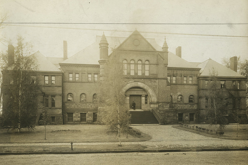 Alumni Hall Turn of Century