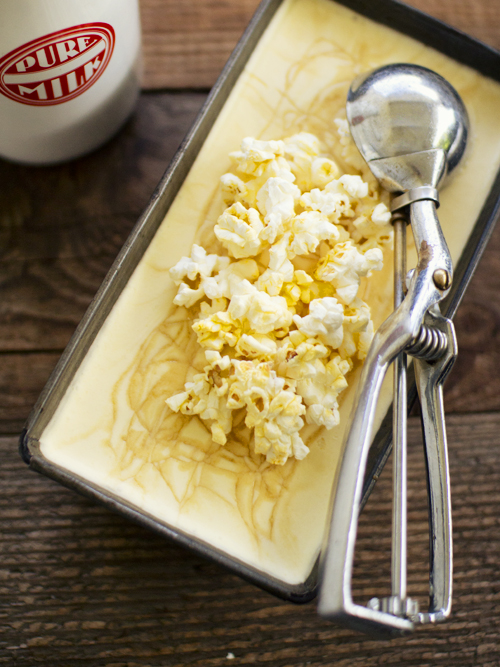 popcorn salted caramel ice cream