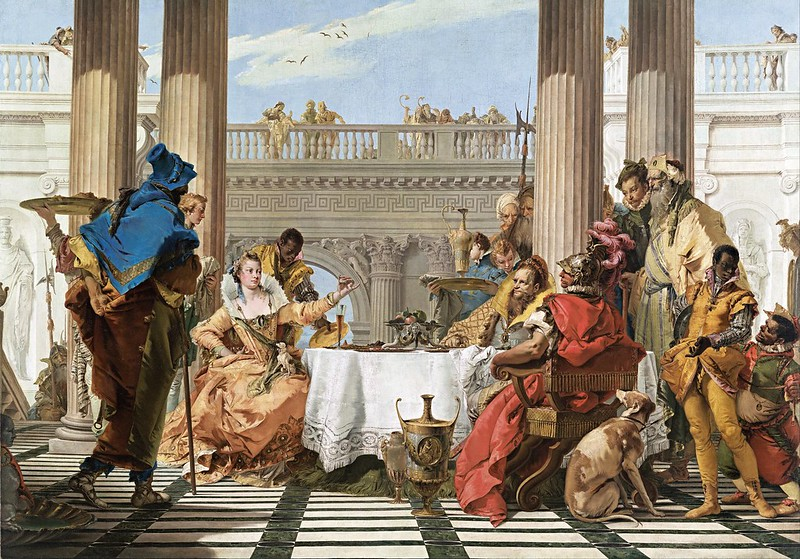 Giambattista Tiepolo - The Banquet of Cleopatra (c.1743)