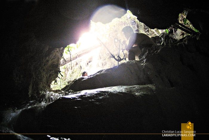 Inside the Cave to Kalubihon Falls in Iligan City