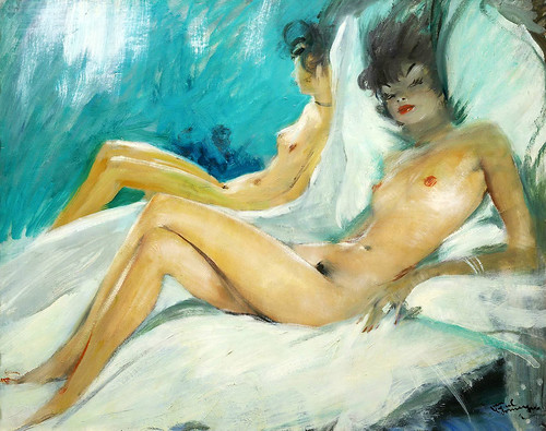 024- Eliana al desnudo-Jean Gabriel Domergue