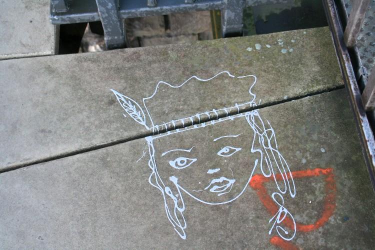 Streetart und Graffiti - Neue EZB in Frankfurt, Ostend