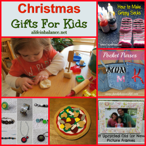 Christmas Gift Ideas to Make or Buy for Kids